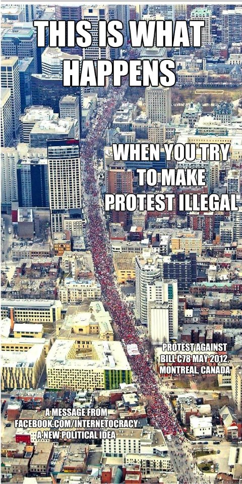 What Happens When You Try To Make Protesting Illegal