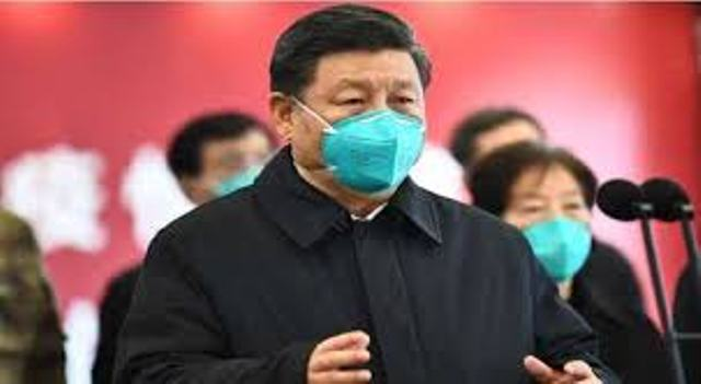 Masked Chinese Leader