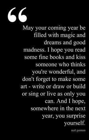 May Your Coming Year Be Filled With...