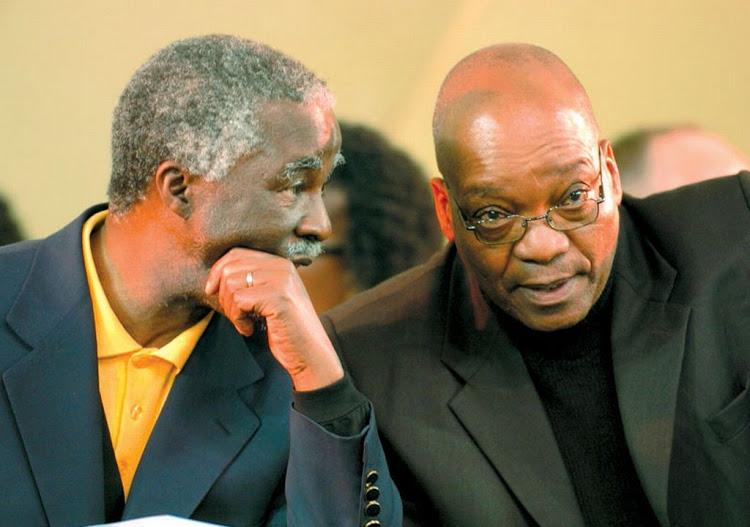 Mbeki And Zuma