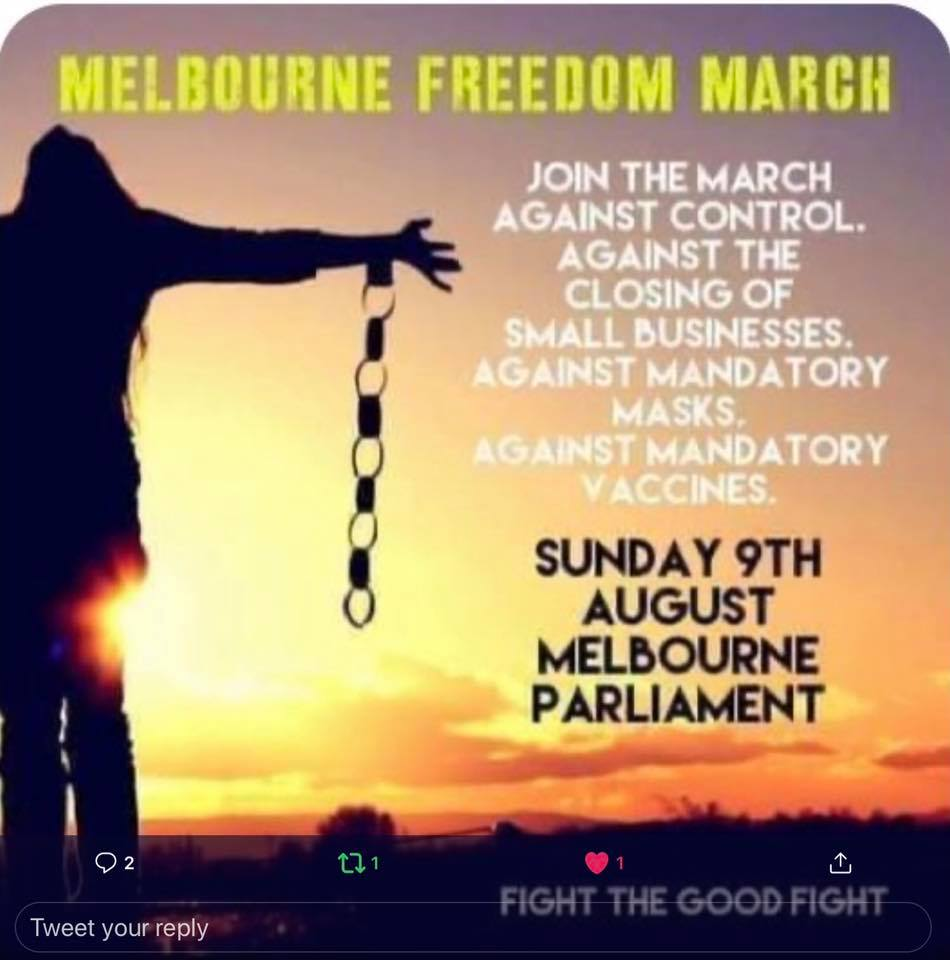 Melbourne Freedom March