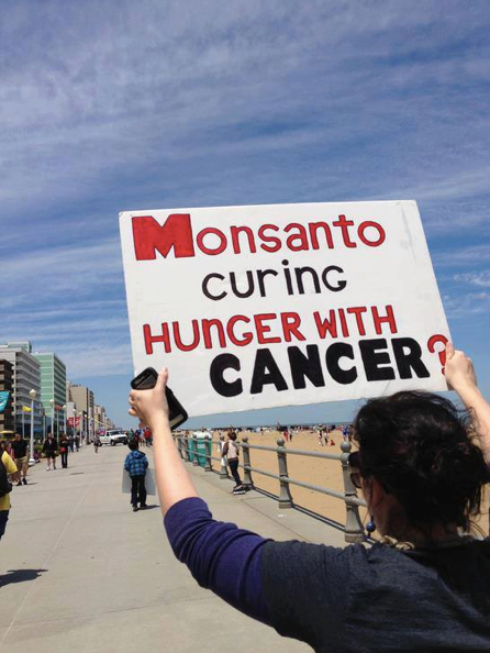 Monsanto Curing Hunger With Cancer