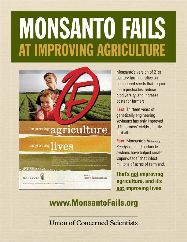 Monsanto Fails