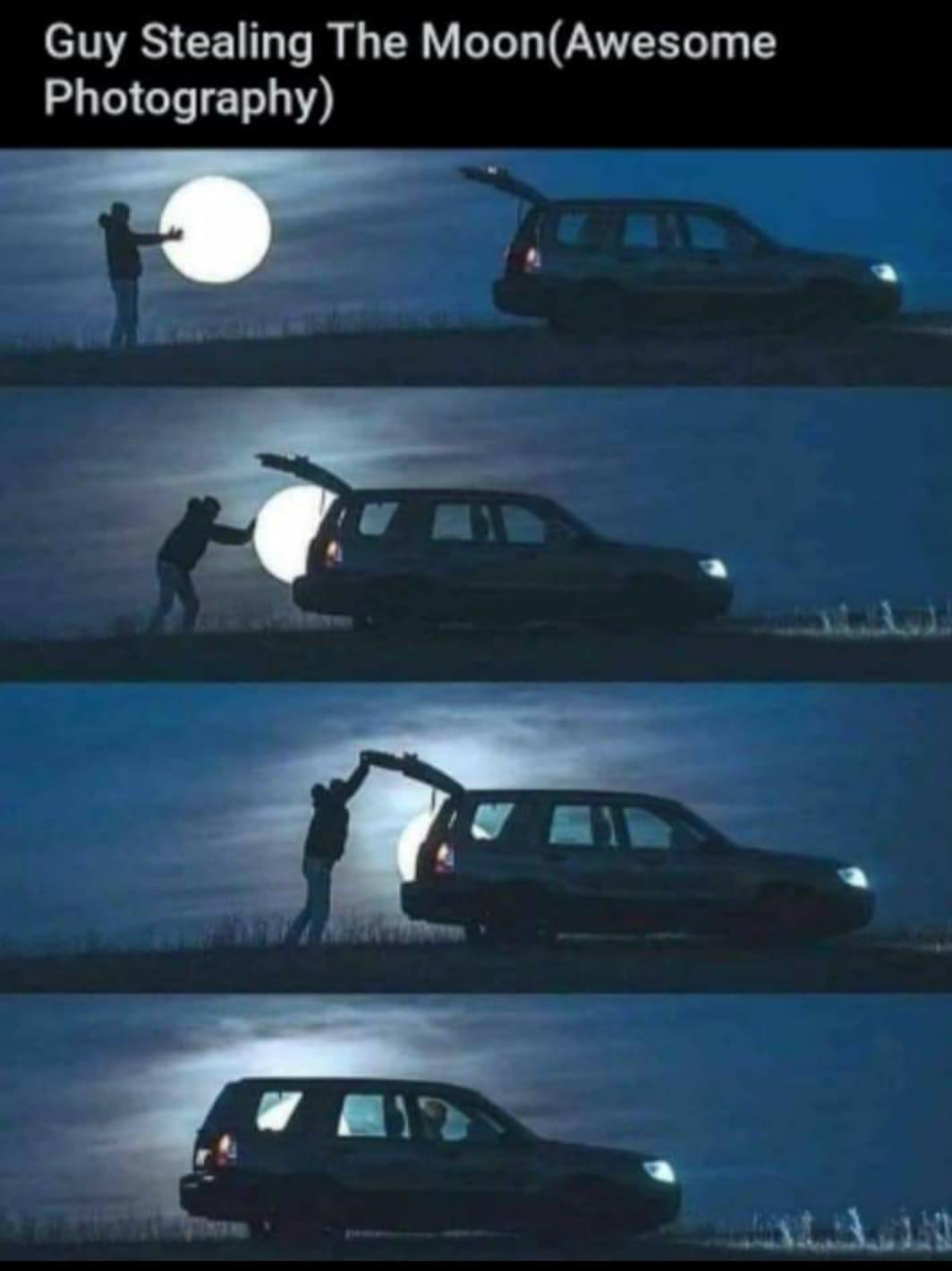 Moon Theft