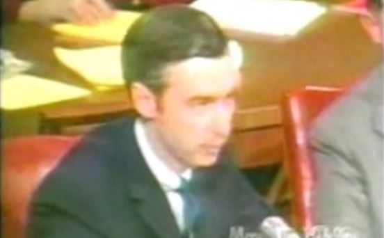 Mr Rogers Senate Pitch 1969