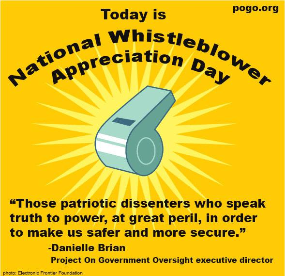National Whistleblower Appreciation Day