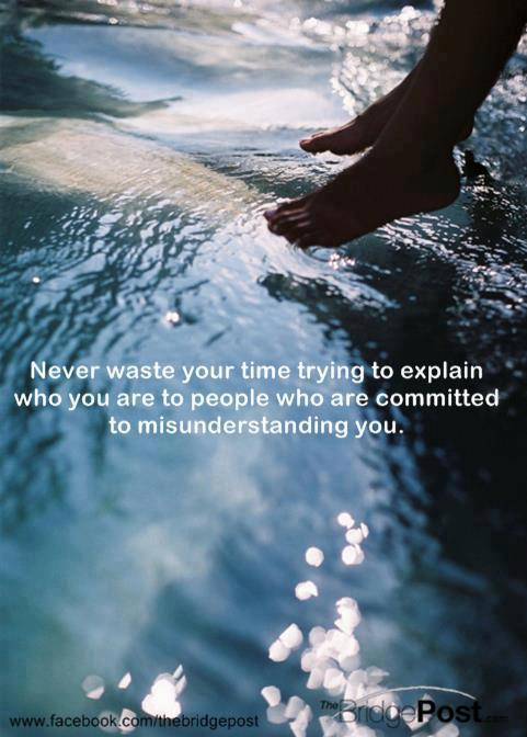Never Waste Your Time...