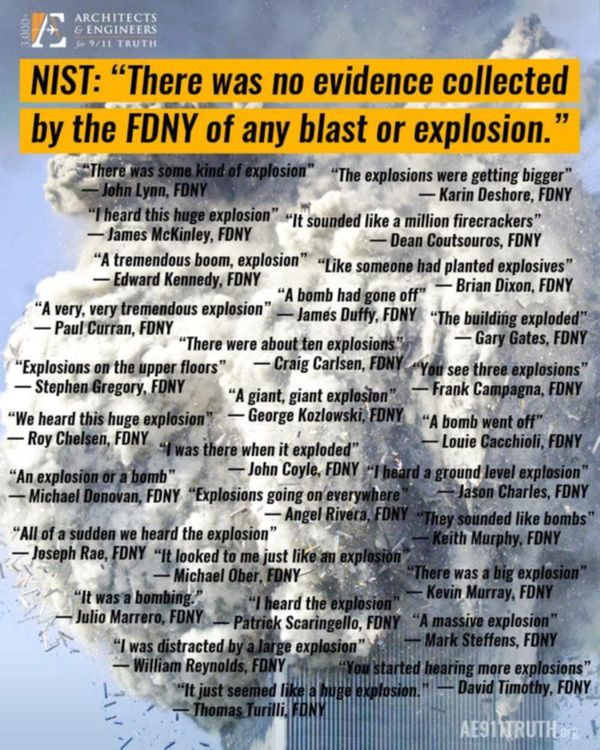 911 - No Evidence Of Explosion