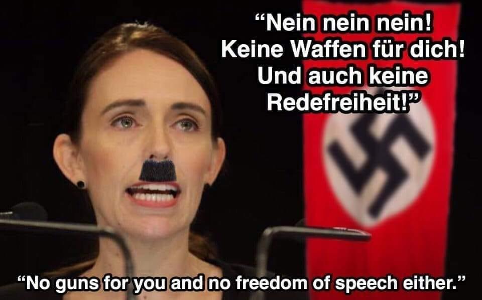 No Guns For You And No Freedom Of Speech