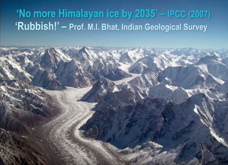 No Himalayan Ice