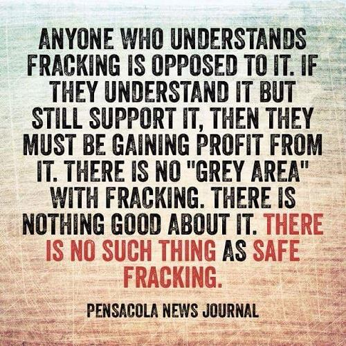 No Safe Fracking