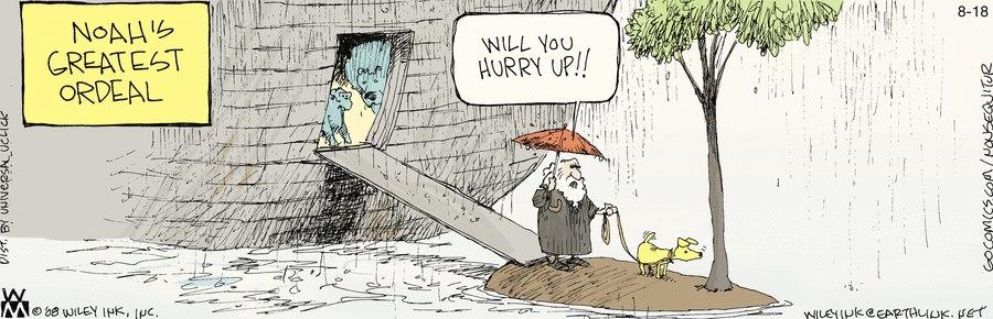 Noah's Greatest Ordeal