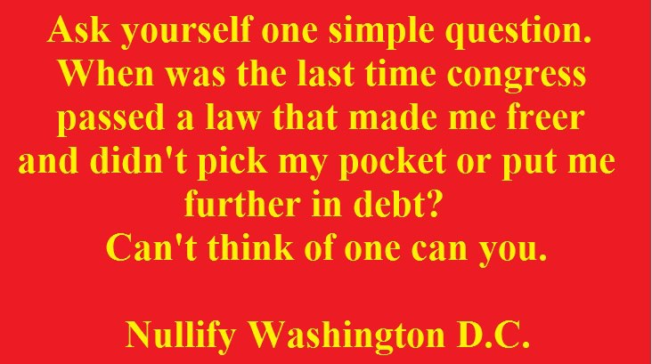 Nullify Washington DC