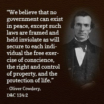 Oliver Cowdery Quote