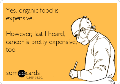Organic Food Is Expensive