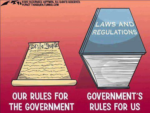 Our Rules For The Government, Their Rules for Us