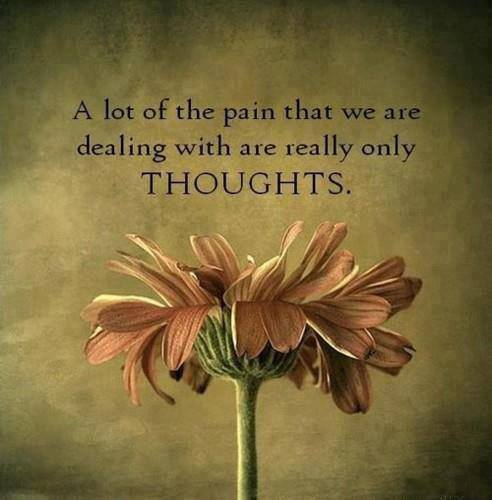 Your Pain From Thoughts