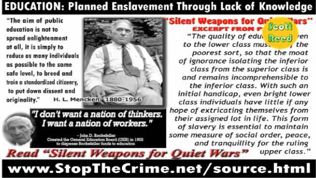 Planned Enslavement