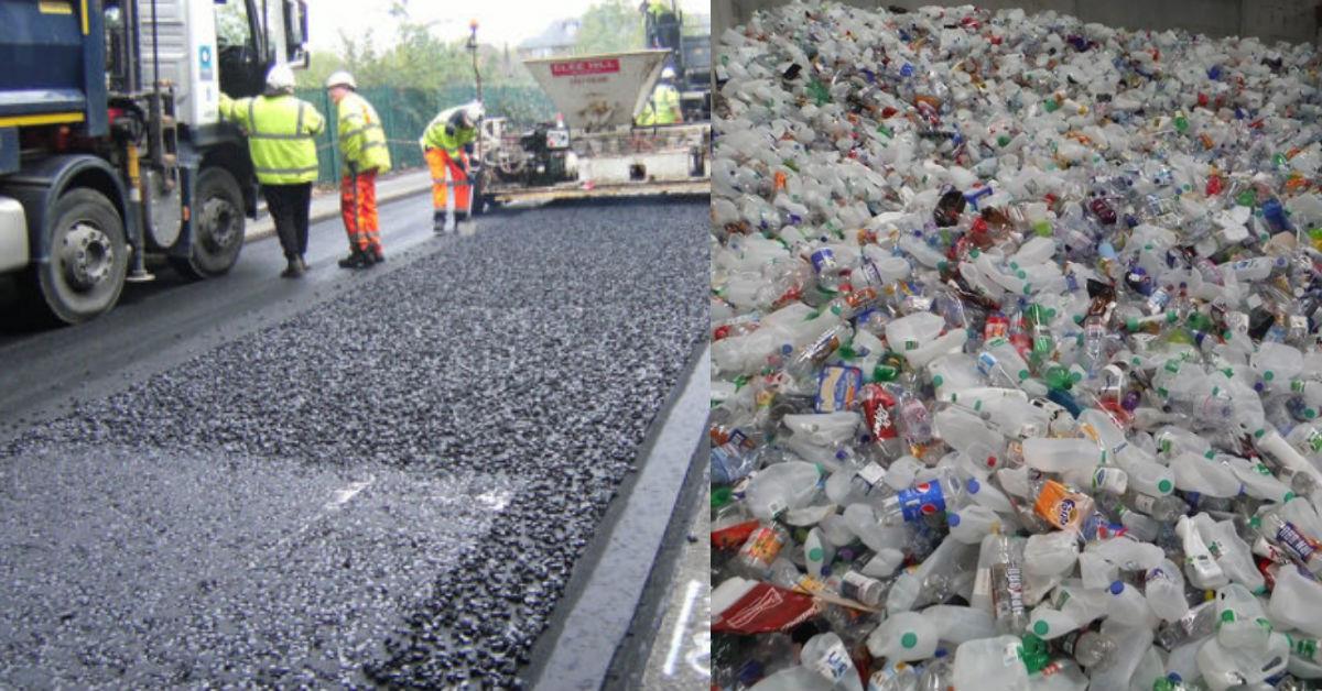 Plastic Bottle Roads