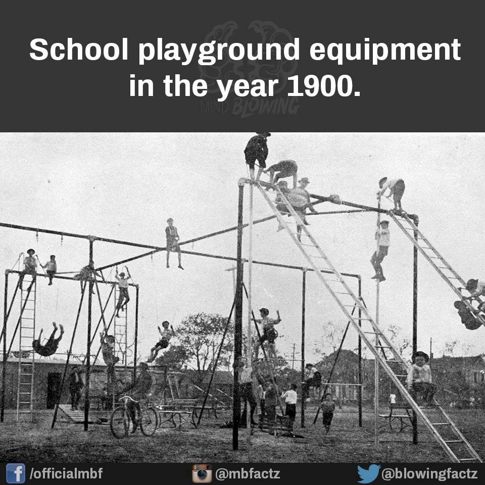 Playground Equipment In 1900