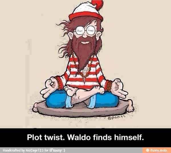 Plot Twist. Waldo Finds Himself.