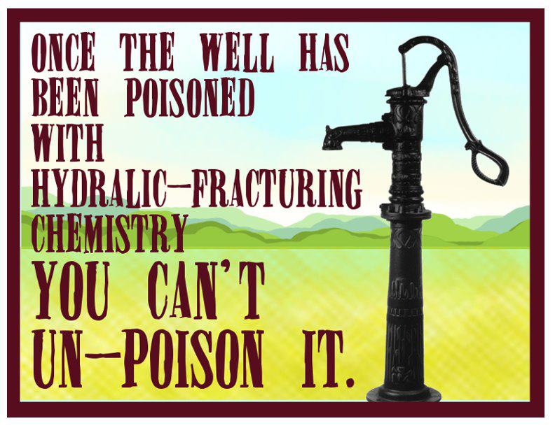 Fracking Poisons Water