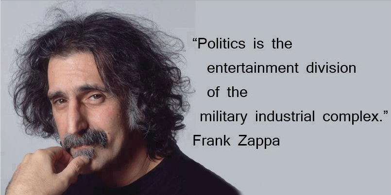 Politics Is the Entertainment Arm of the Military-Industrial Complex