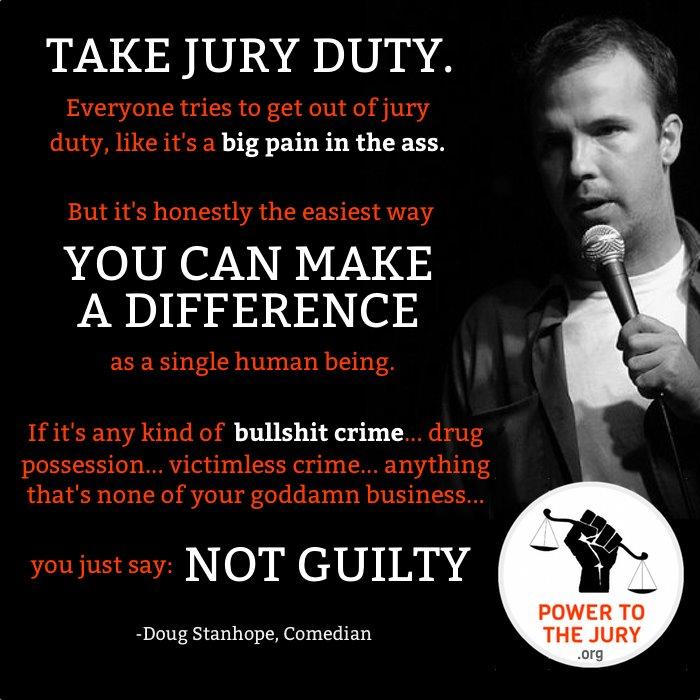Power To The Jury