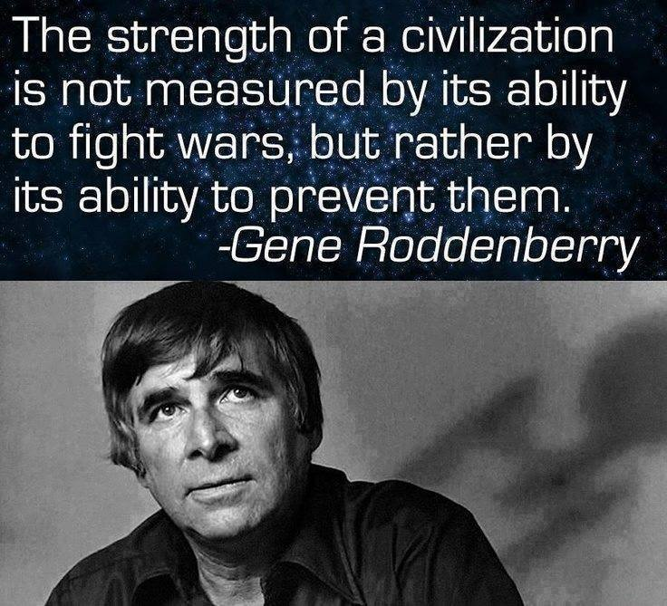 Be Strong - Prevent Wars