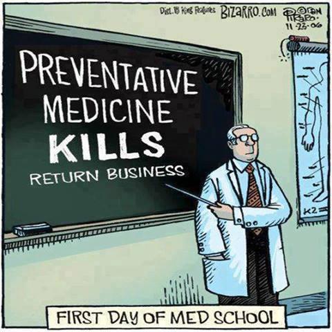 Preventative Medicine Kills