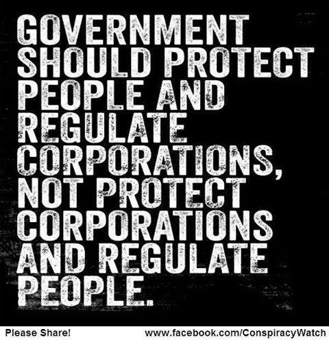 Protect People And Regulate Companies