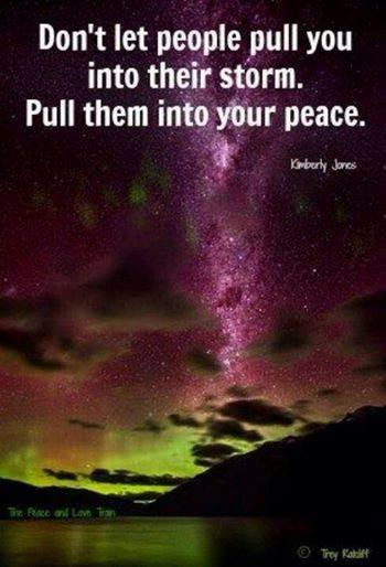 Pull Them Into Your Peace