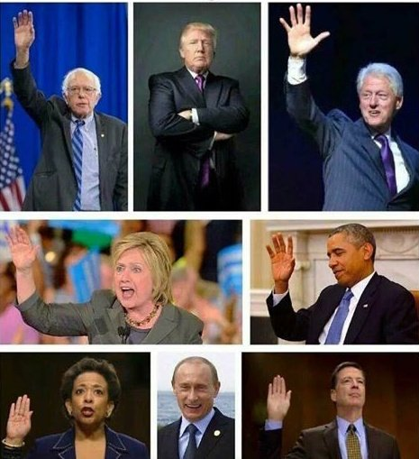 Raise Your Hand If You Are Under Investigation