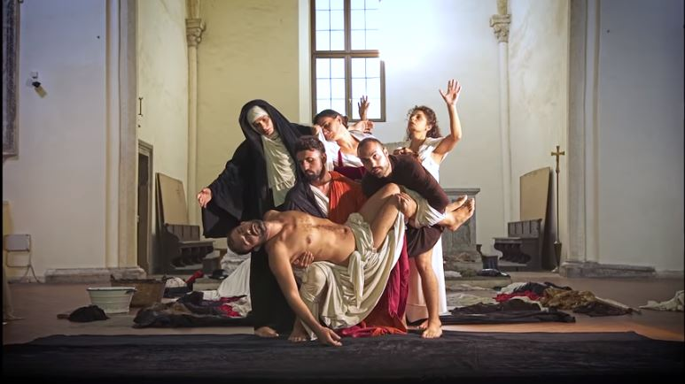 Re-enactments_Caravaggio_Paintings