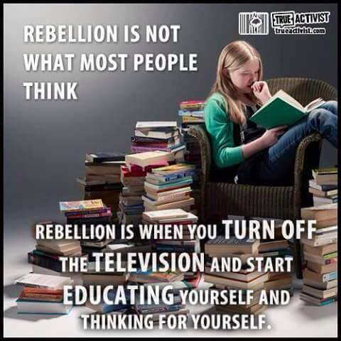 Rebellion Is Not What Most People Think
