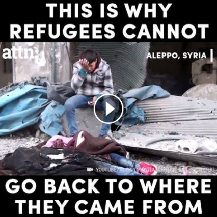 Refugees Can't Go Back