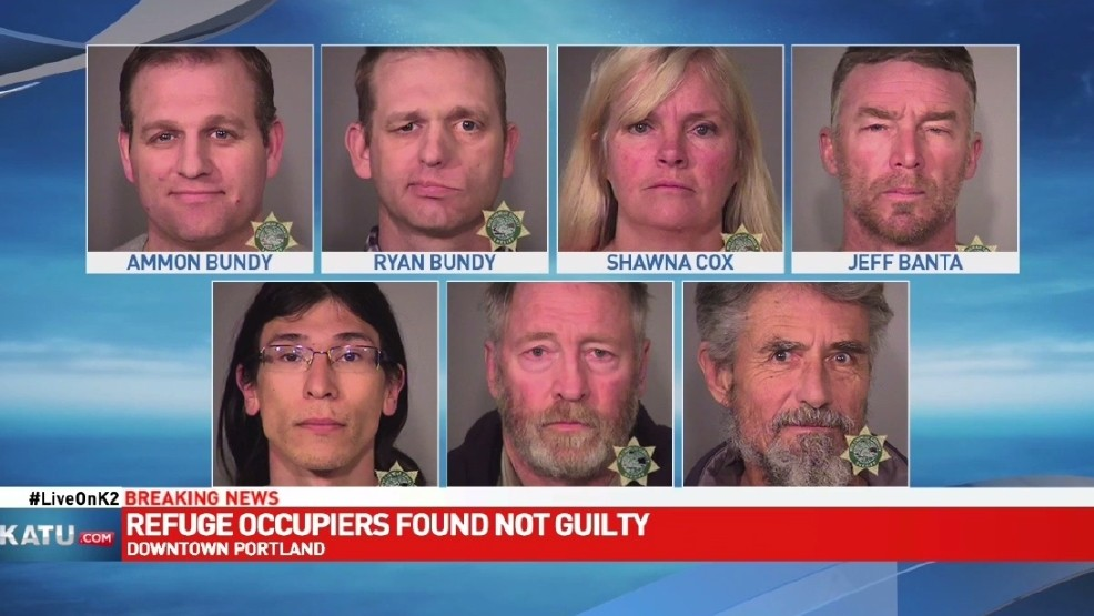 Refuge Occupiers Photos via Multnomah Co Jail