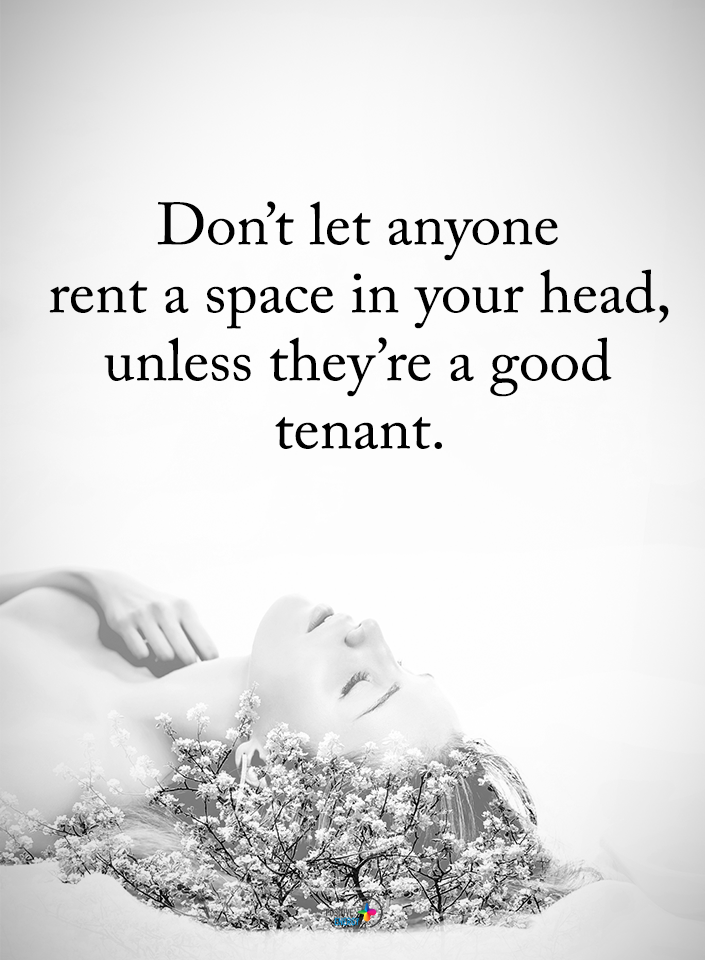 Rent Head Space Only To Good Tenants