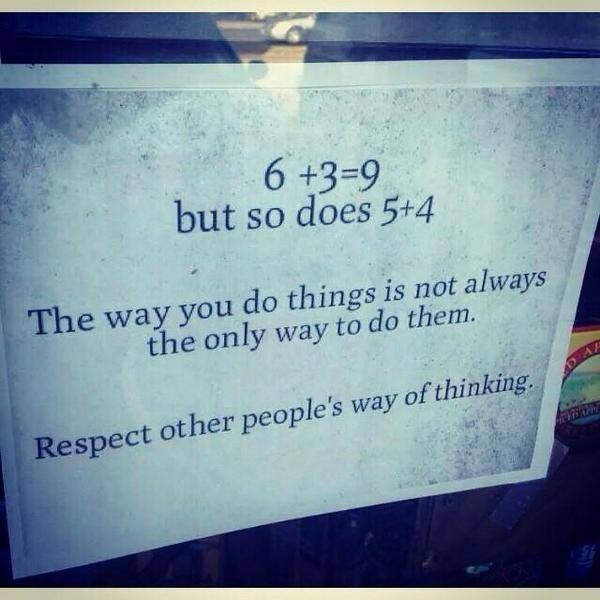 Respect Other People