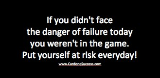 Risk Failure Every Day