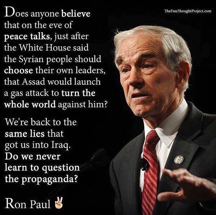 Ron Paul On Syria