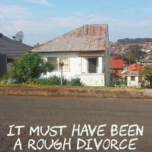 It Must Have Been A Rough Divorce