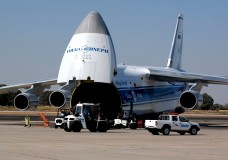 Ruslan cargo aircraft