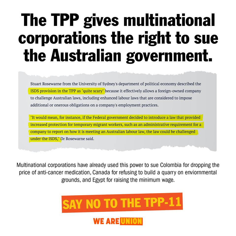 Say No To TPP II