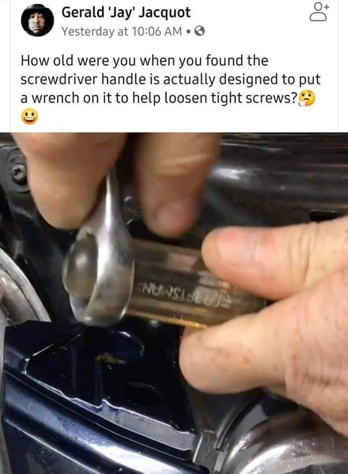 Screw Driver Hack