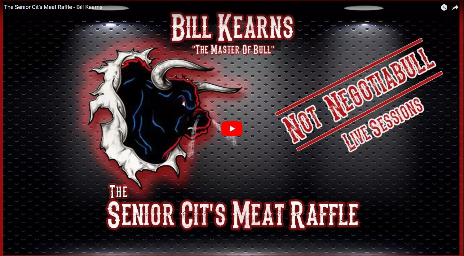 Senior Citizens Meat Raffle