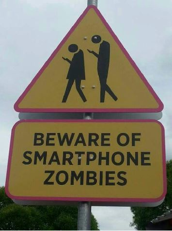 Smart Phone Zombies