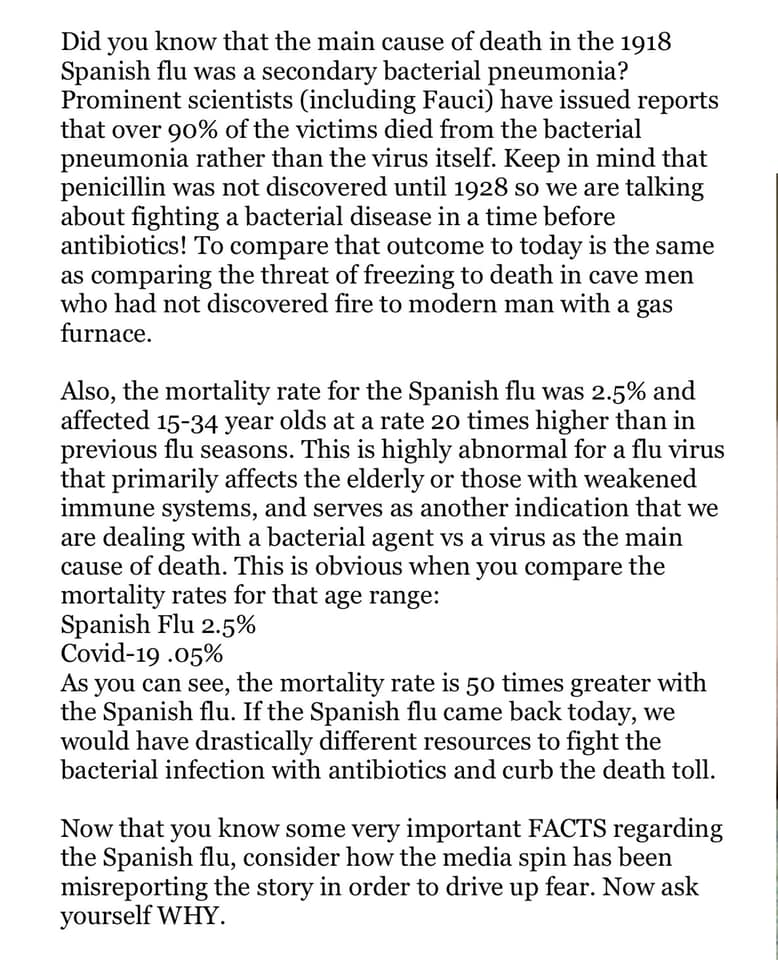 Spanish Flu Data