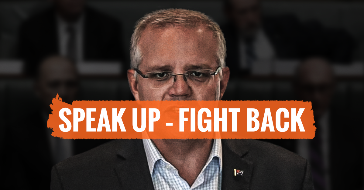 Speak Up Fight Back