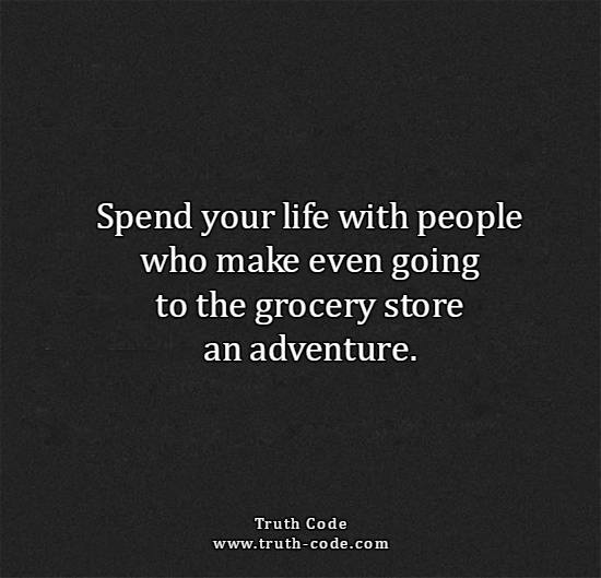 Spend Your Life With Adventurers
